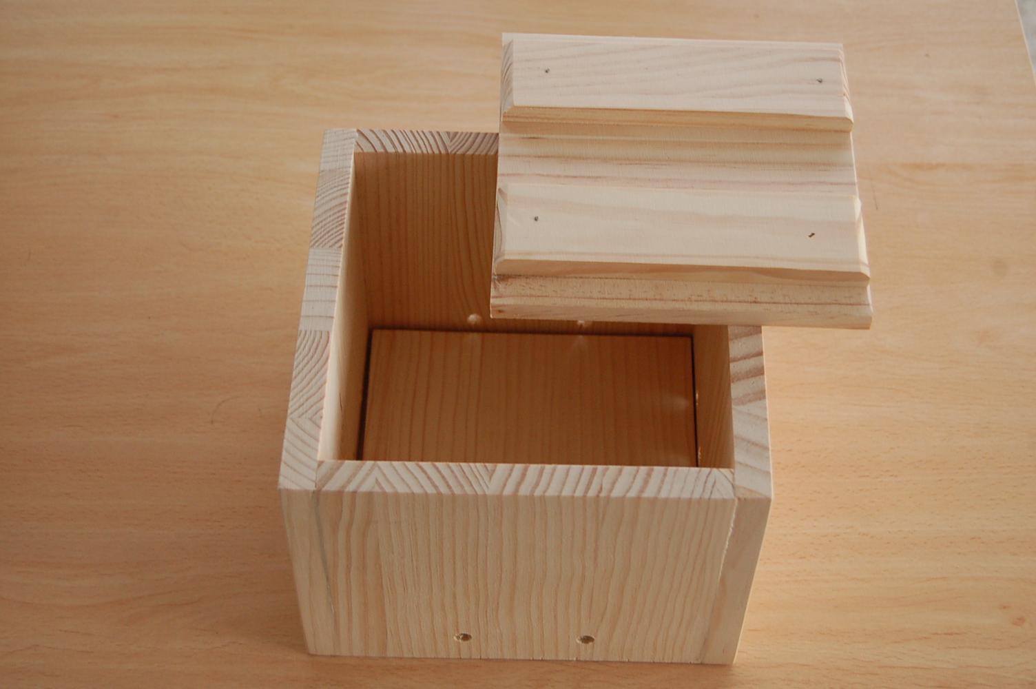 la caja para hacer tofu o queso
